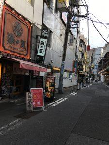 新宿駅から見える居酒屋『うまいもん酒場』でお昼からせんべろ!